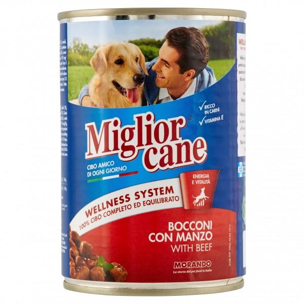 MIGLIOR CANE BOC.400GR MANZO