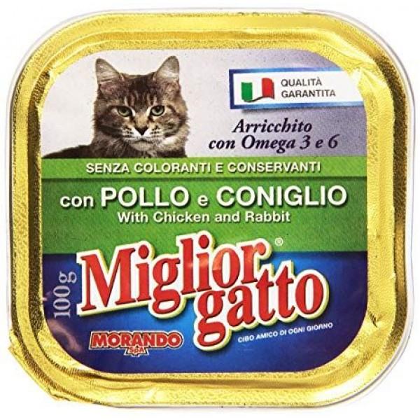 MIGLIOR GATTO V.100GR POL/CON.