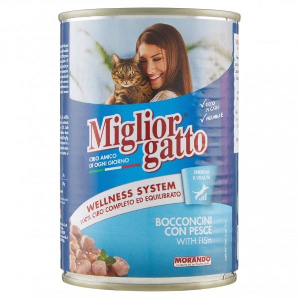MIGLIOR GATTO BOC.400GR PESCE