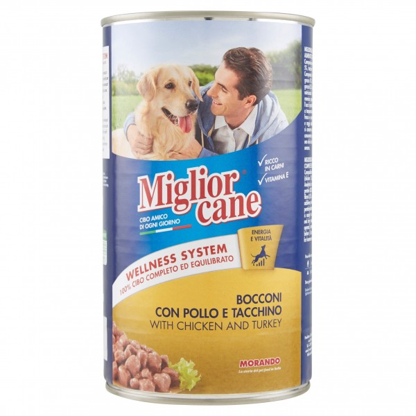 MIGLIOR CANE BOC.1250GR POL/TA