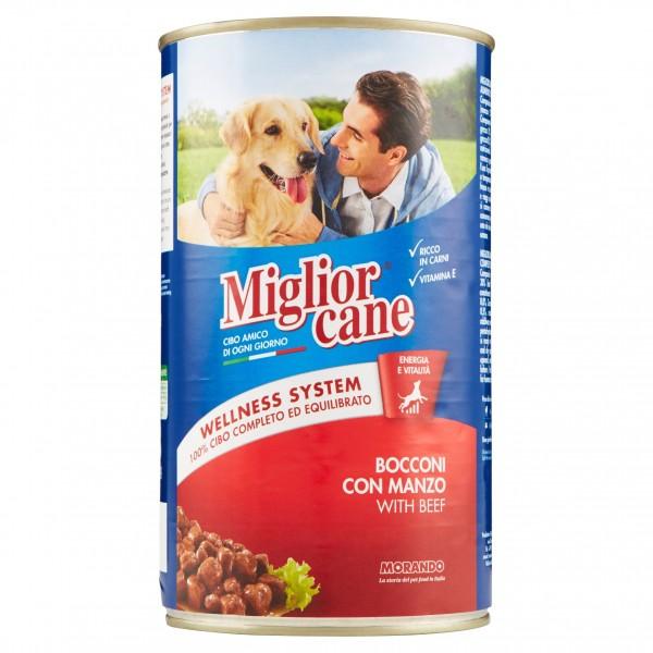 MIGLIOR CANE BOC.1250GR MANZO
