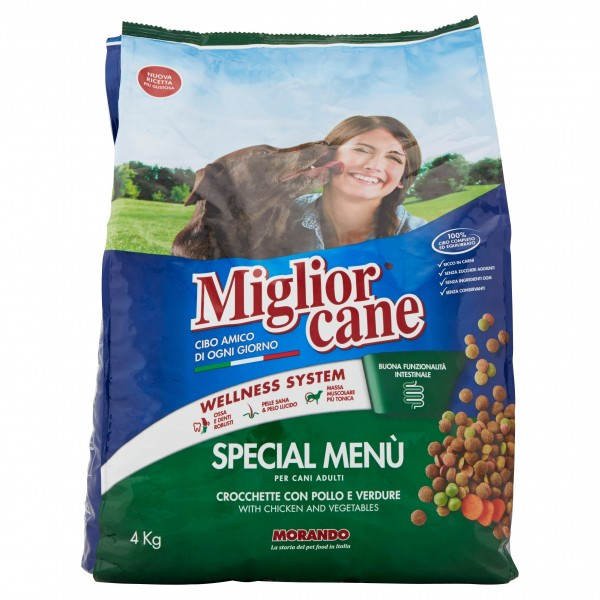 MIGLIOR CANE SPECIAMENU' kg.4