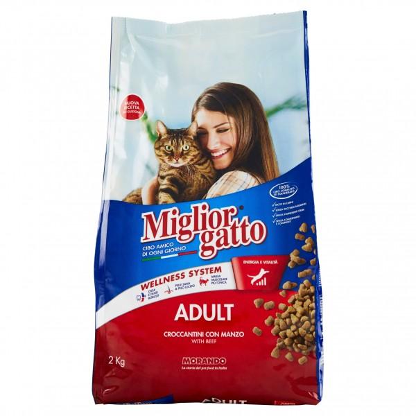 MIGLIOR GATTO CROC.2kg MANZO