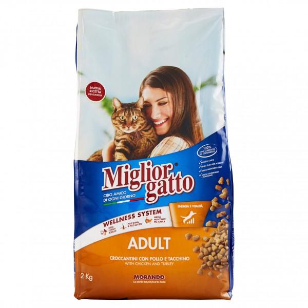 MIGLIOR GATTO CROC.2kg POL/TAC