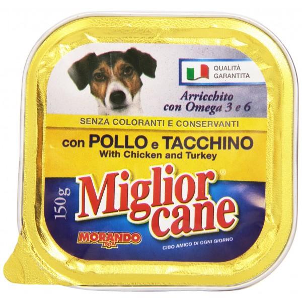 MIGLIOR CANE V.150GR POL/TACCH