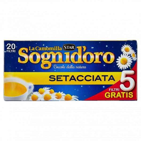SOGNI D'ORO CAMOMILLA SETACCIATA 15 FILTRI
