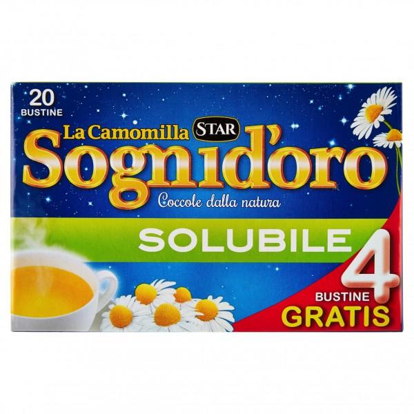 SOGNI D'ORO CAMOMILLA SOLUBILE