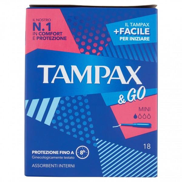 TAMPAX & GO 18PZ MINI