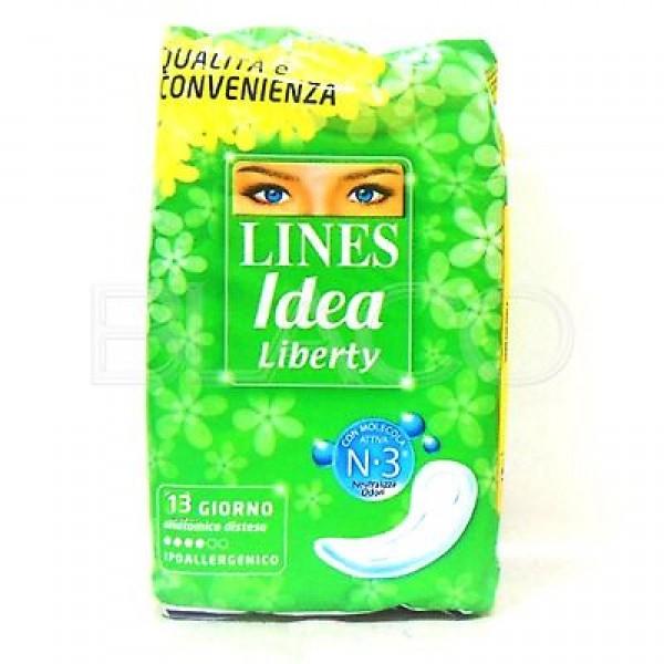 LINES IDEA LIBERTY ANATOMICO CONFEZIONE DA 13