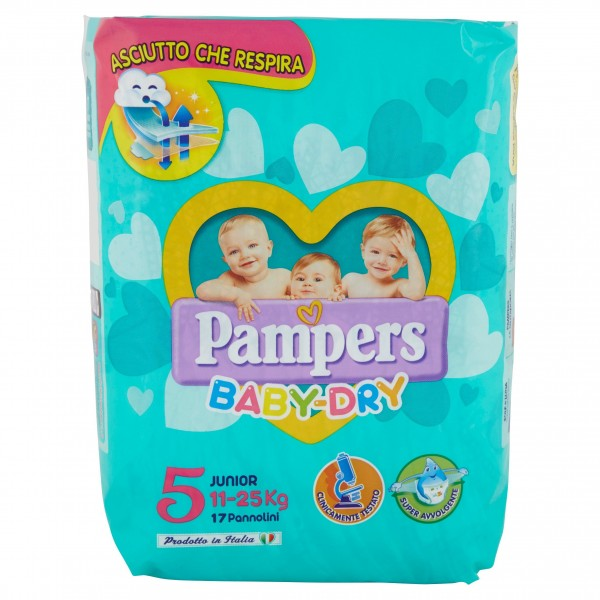 PAMPERS BABY DRY JUNIOR 11/25