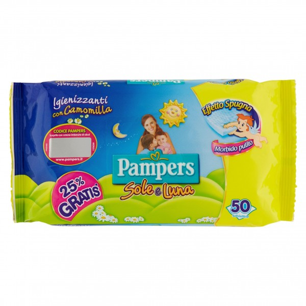 PAMPERS SALV.SOLE & LUNA X 46