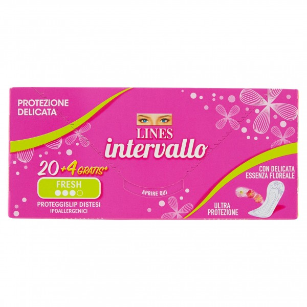 LINES INTERVALLO FRESH DISTESO CONFEZIONE DA 24