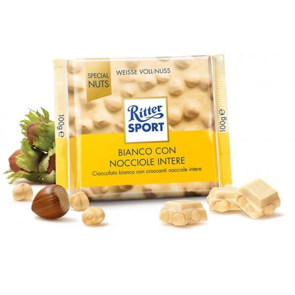 RITTER SPECIAL NUTS BIANCO NOCCIOLA 100 GR