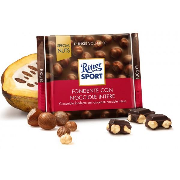 RITTER SPECIAL NUTS FONDENTE NOCCIOLE  GR 100