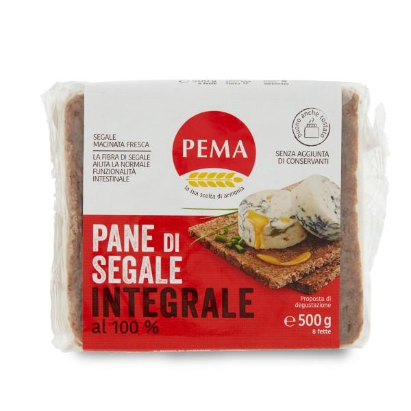 PEMA PANE INTEGRALE DI SEGALE GR 500