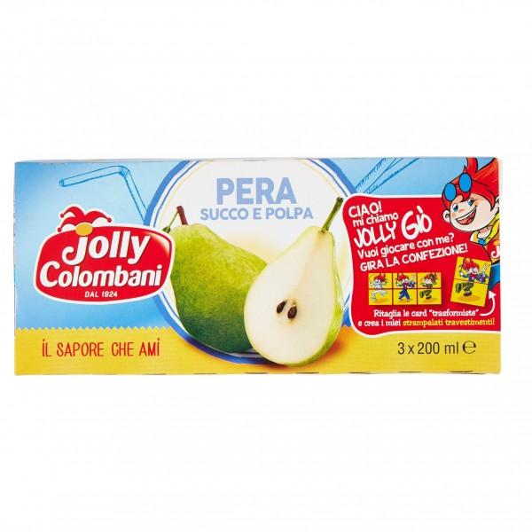 JOLLY SUCCHI PERA CONFEZIONE DA 3 PER 200 ML