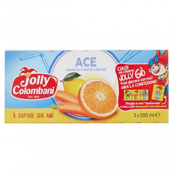 JOLLY SUCCHI ACE CONFEZIONE DA 3 PER 200 ML