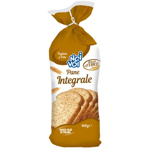 NOI&VOI PAN BAULETTO INTEGRALE 400 GR
