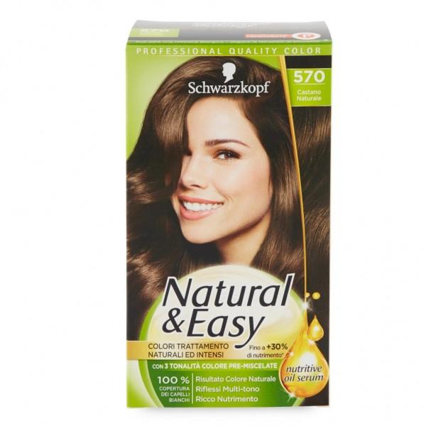 NATURAL E EASY COLOR 570 CASTANO NATURALE