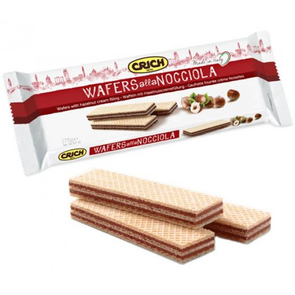 CRICH WAFER NOCCIOLA GR 175#
