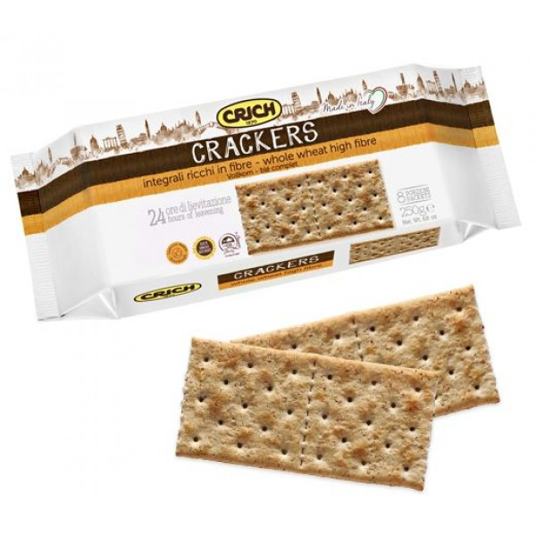 CRICH CRACKERS INTEGRALI 250 g#