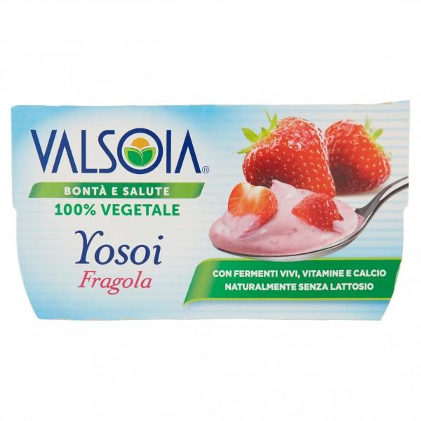 VALSOIA YOSOI FRAGOLA 2x125g