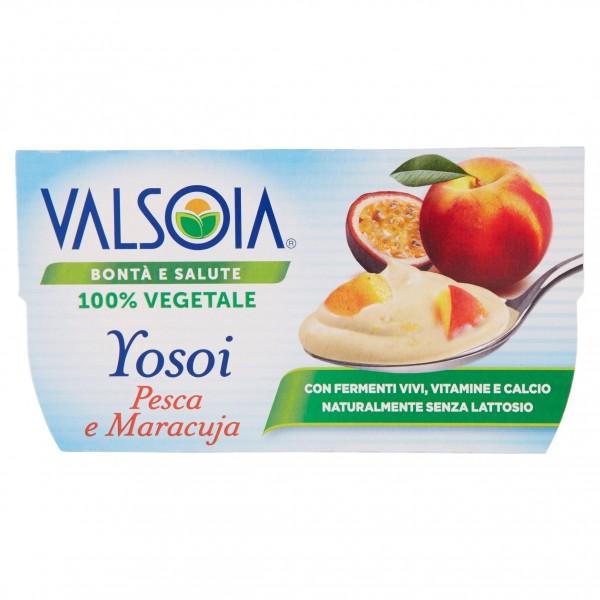 VALSOIA YOSOI PESCA/MARACUJA 2X125 g