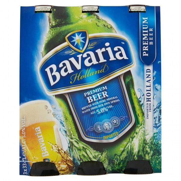 BAVARIA BIRRA PREMIUM CL.33X3