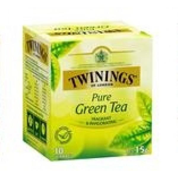 TWININGS TEA PURE GREEN 25 FILTRI
