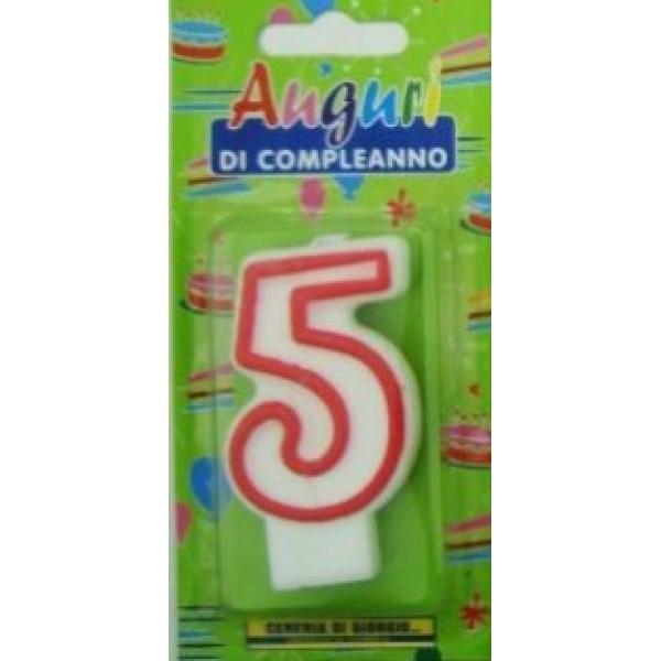 SAMURAI PARTY CANDELA NUMERO 5