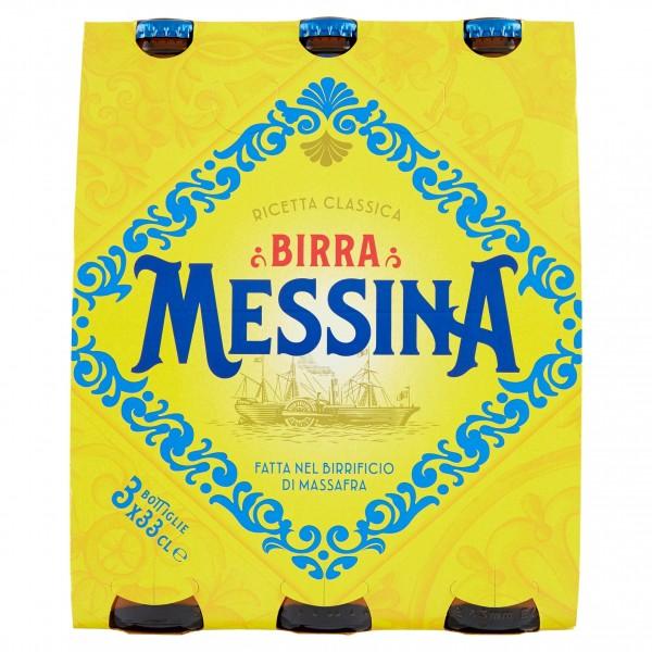 MESSINA BIRRA 3 BOTTIGLIE 33 CL
