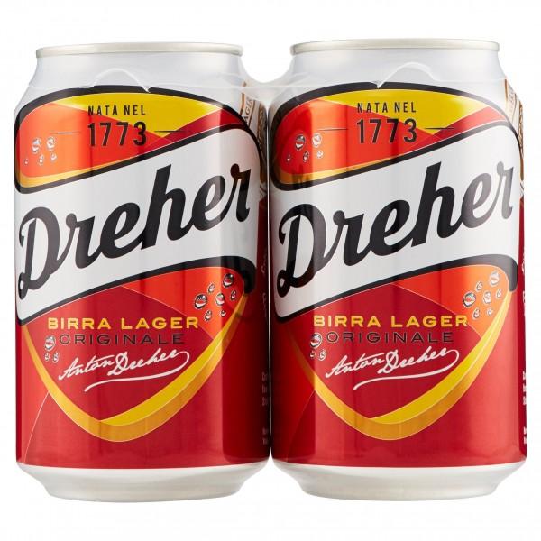 DREHER BIRRA LATTINA 2 DA 33 CL