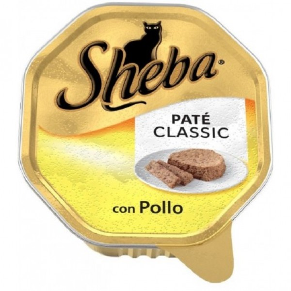 SHEBA PATE'V.85GR POLLO