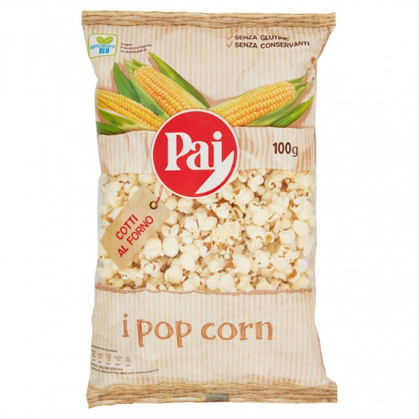 PAI POP CORN TRASPARENTI 100 GR