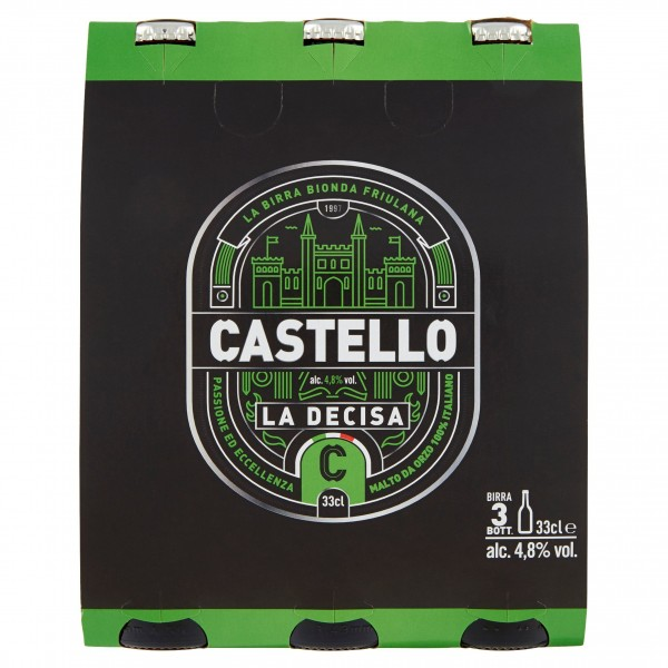 CASTELLO BIRRA LA DECISA 3X33C
