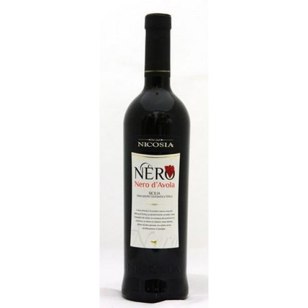 NICOSIA VINO NERO D'AVOLA CL75