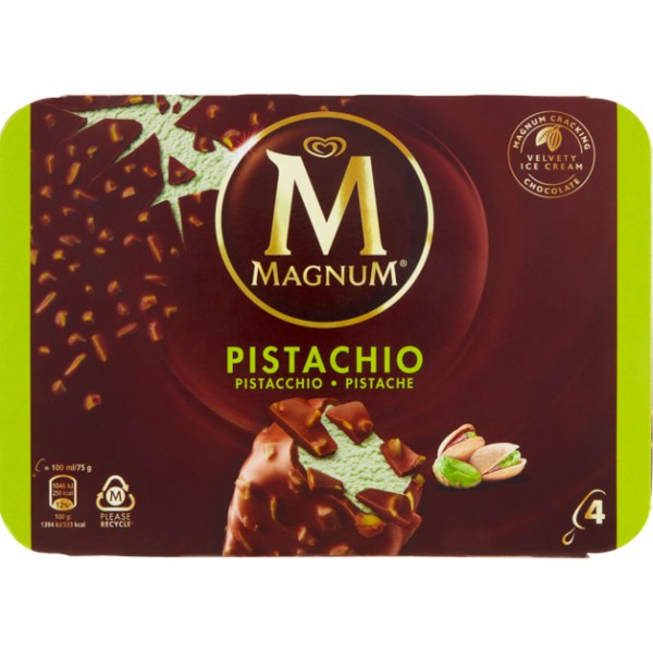 NEW MAGNUM PISTACCHIO X 4 300 g