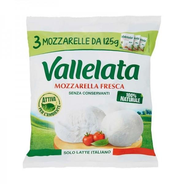 VALLELATA MOZZARELLA 100 PER 3