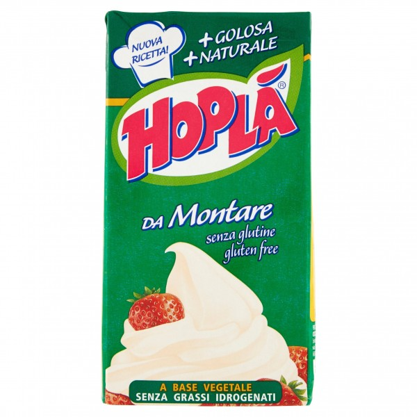 HOPLA' PREPARATO VEGETALE PER DOLCI 500 ML