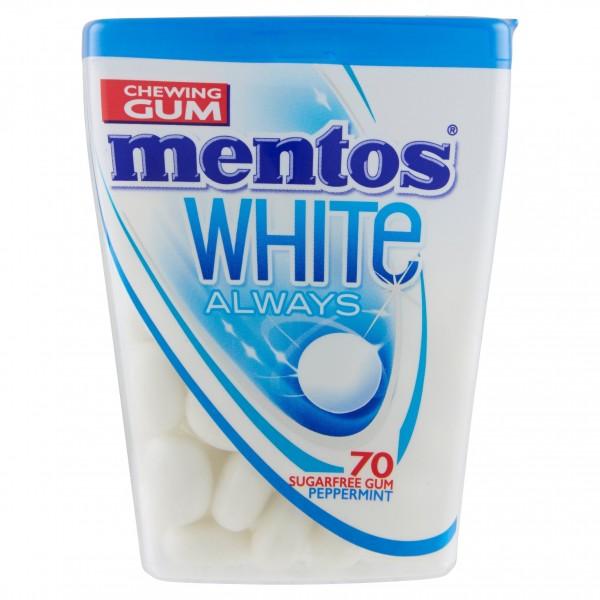 MENTOS GUM WHITE ALW 70 PEPP.