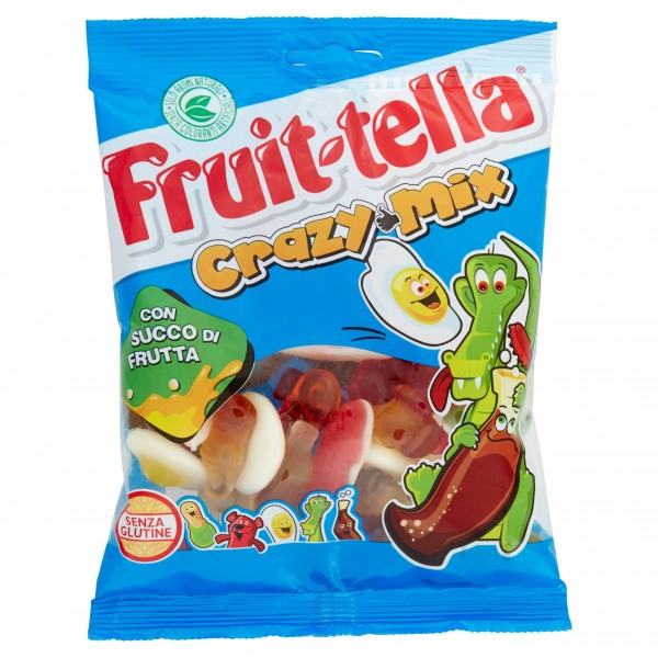 FRUIT-TELLA BUSTA CRAZY MIX DA 24 PER 175 GR
