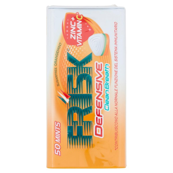 FRISK CLEAN BREATH ORANGEMINT DA 12