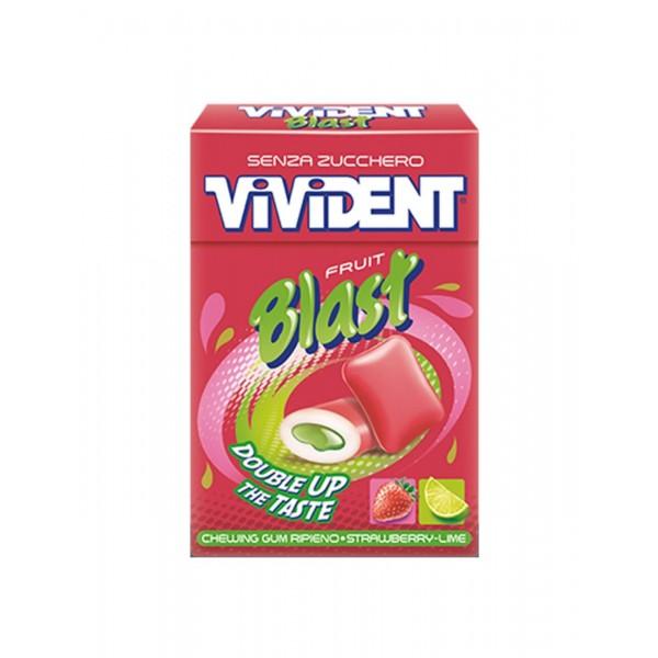 VIVIDENT BLAST STRAWB.LIME X20