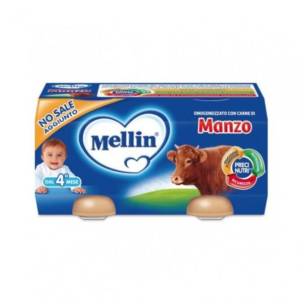 MELLIN OMOGEN.MANZO g120X2
