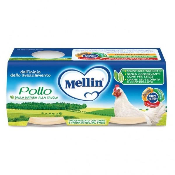 MELLIN OMOG. POLLO g 120 X 2