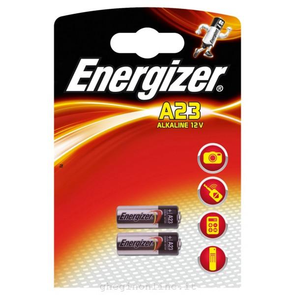 ENERGIZER PILE ALKALINE A23 E23 CONFEZIONE DA 2