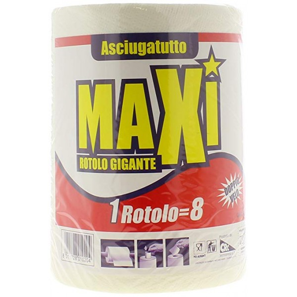 MAXI ASCIUGAT.1RT UGUALE 8#