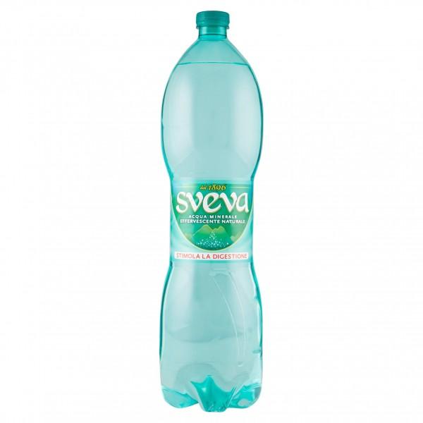 SVEVA ACQUA EFERVESCENTE NATURALE PET 1,5 LT