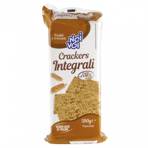 NOI&VOI CRACKERS INTEGRALI 500 GR