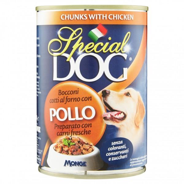 SPECIAL DOG BOC.400GR POLLO